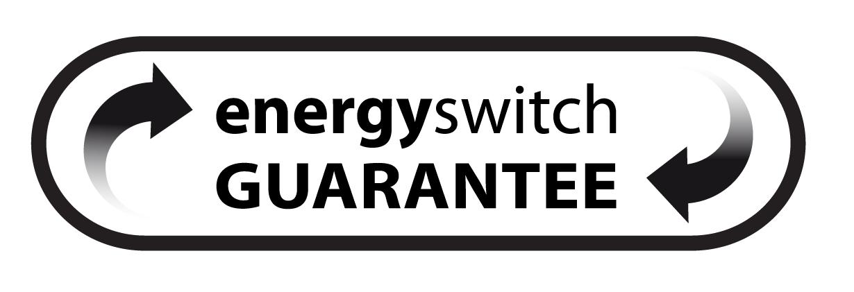 Trustpilot switch guarantee logo