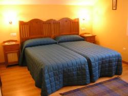 Habitación con dos camas individuales Casa Rural La Cava