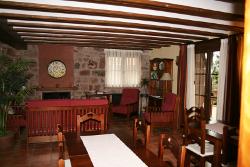 Vista del Salón de la Casa Rural La Cava