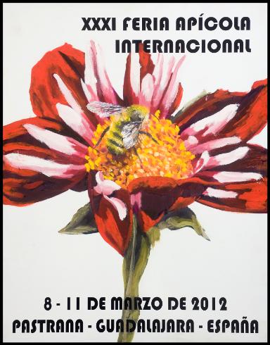 Cartel ganador 2012 Feria Apícola