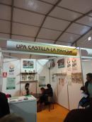 Stand UPA Castilla-La Mancha en la Feria Apícola Internacional