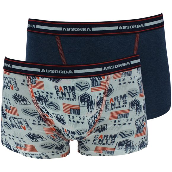Submarine | 2-pack boxer briefs - Stretch cotton