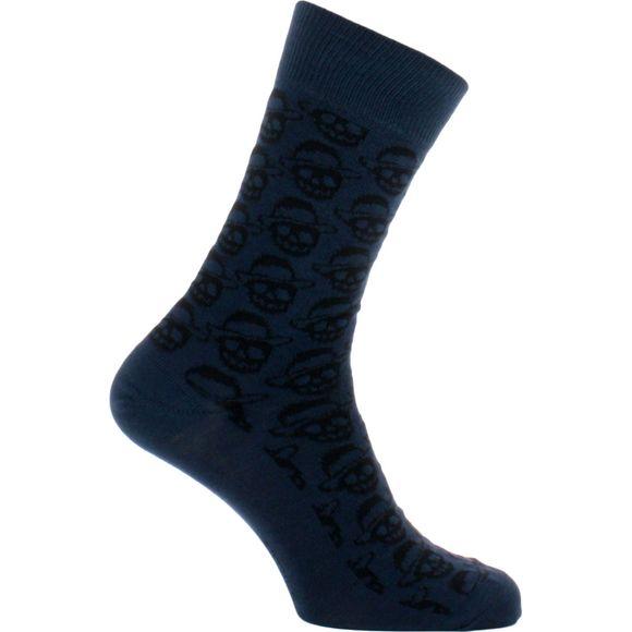 SoBorlanino | 1 par de calcetines clásicos - Algodón y poliamida stretch