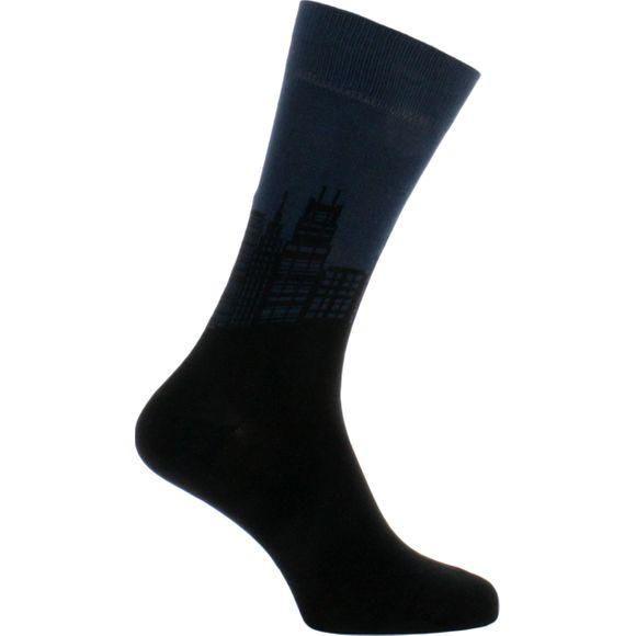 Downtown | 1 par de calcetines clásicos - Algodón y poliamida stretch