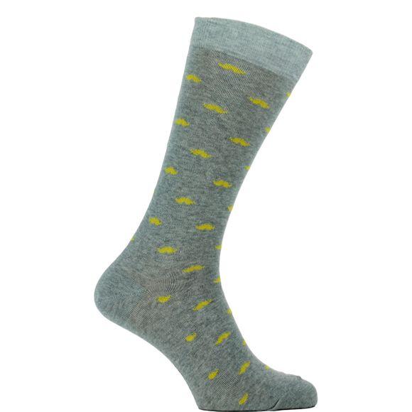 1SO | 1 par de calcetines clásicos - Algodón y poliamida stretch