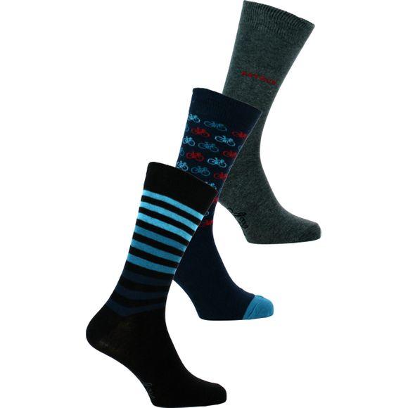 P3 | Lote de 3 pares de calcetines clásicos - Algodón y poliamida stretch