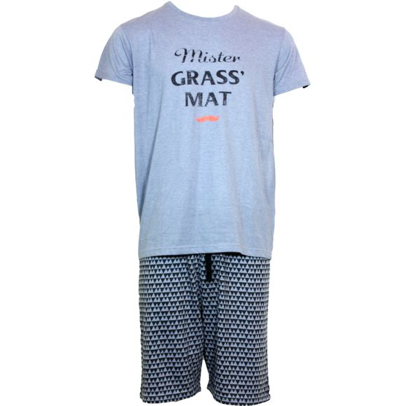 PAU | Pijama entero - Poliéster y algodón