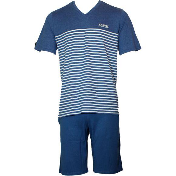 Rayures | Pijama entero - Algodón y poliéster