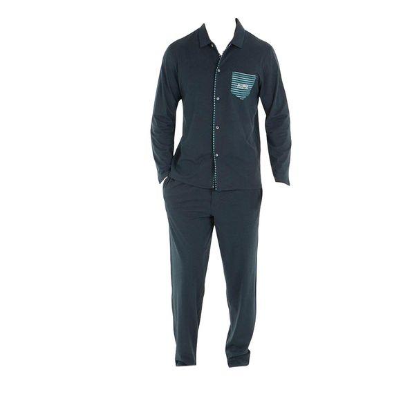Rayures | Pijama entero - 100% algodón