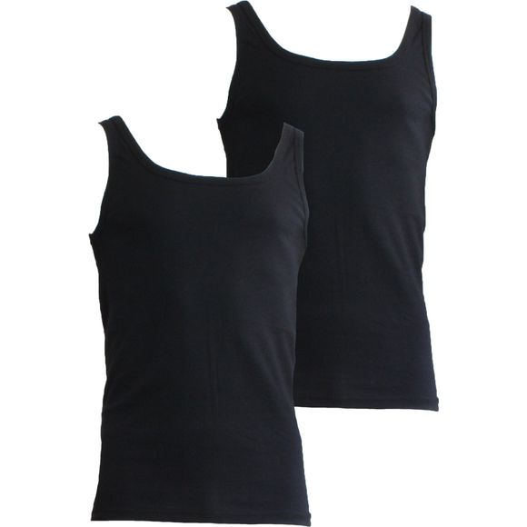 L210 | Lote de 2 camisetas sin mangas - 100% algodón