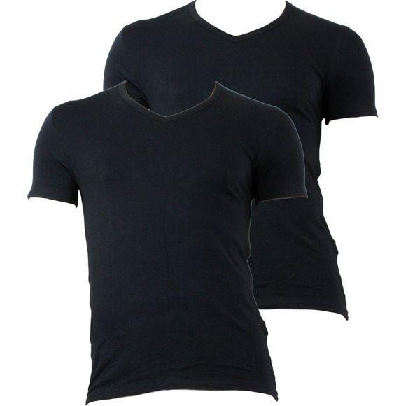 LN13 | Lote de 2 camisetas - Algodón stretch