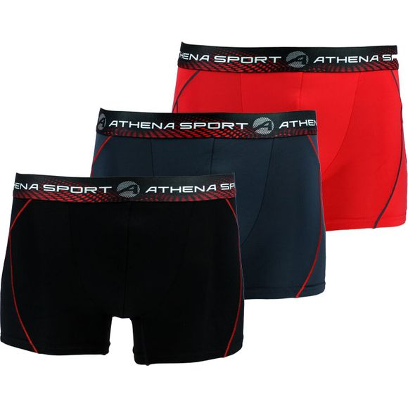 Training | 3-pack boxer briefs - Polyamide stretch
