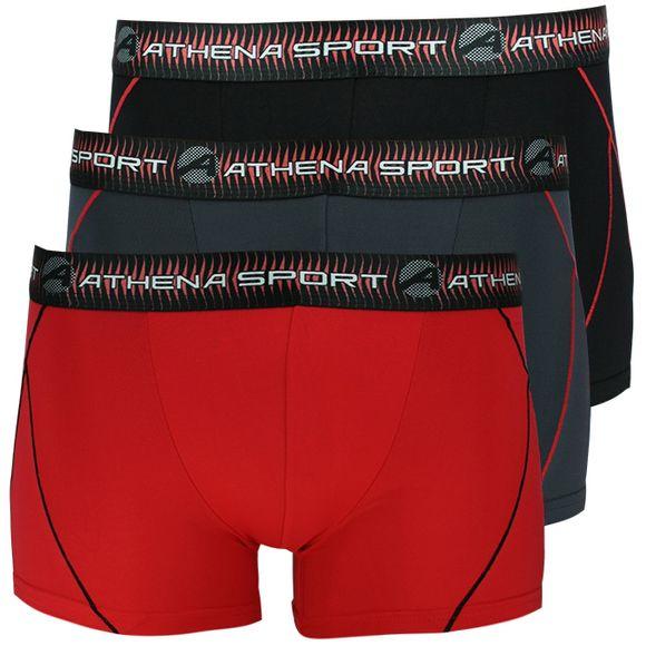 Training | 3-pack boxer briefs - Polyamide stretch