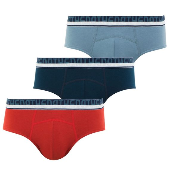 Coton bio | 3-pack high-waisted briefs - Stretch cotton