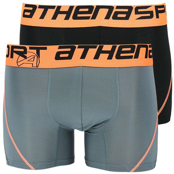 Air performance | 2-pack boxer briefs - Stretch polyester