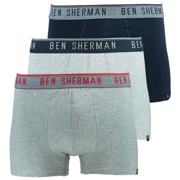 Will | 3-pack boxer briefs - Stretch cotton