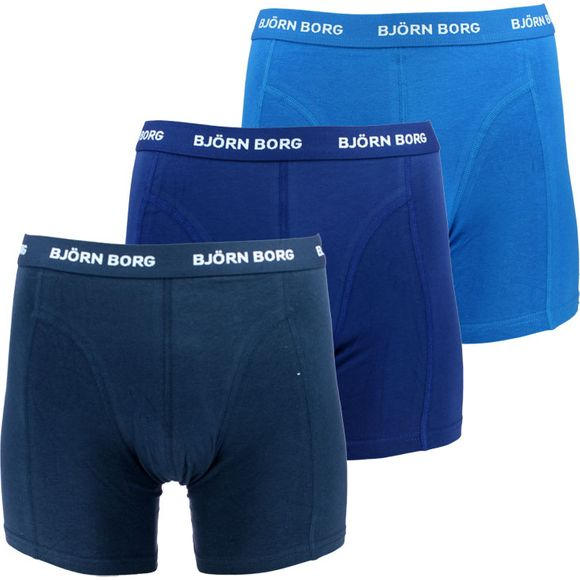 Solids | 3-pack boxer briefs - Stretch cotton
