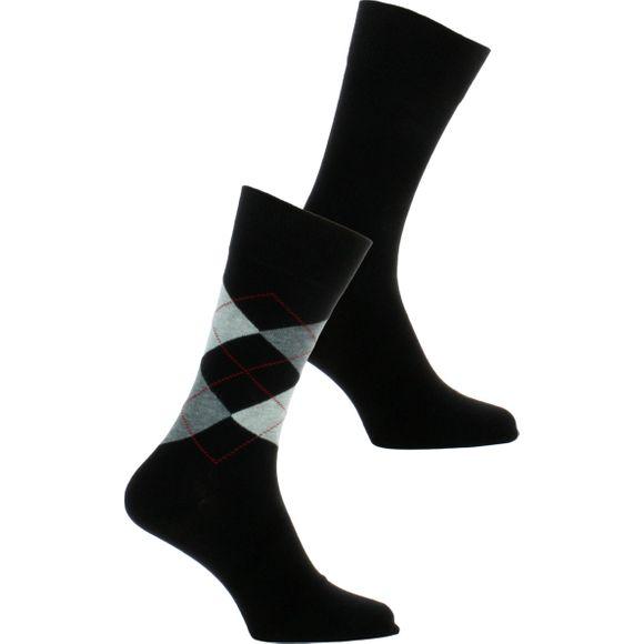 E Day Mix | Lote de 2 pares de calcetines clásicos - Algodón y poliamida stretch
