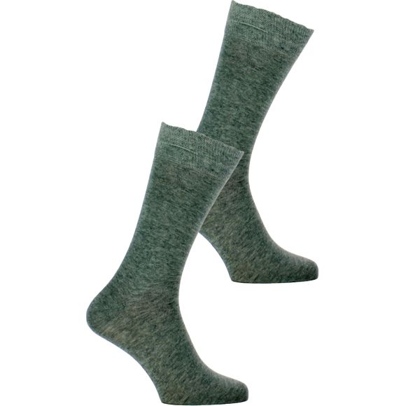 Everyday | Lote de 2 pares de calcetines clásicos - Algodón y poliamida stretch