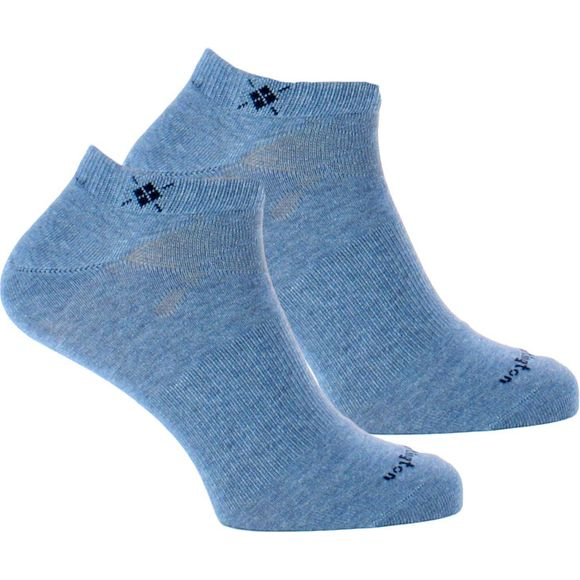 21052 | 2-pack ankle socks - Cotton and stretch polyamide