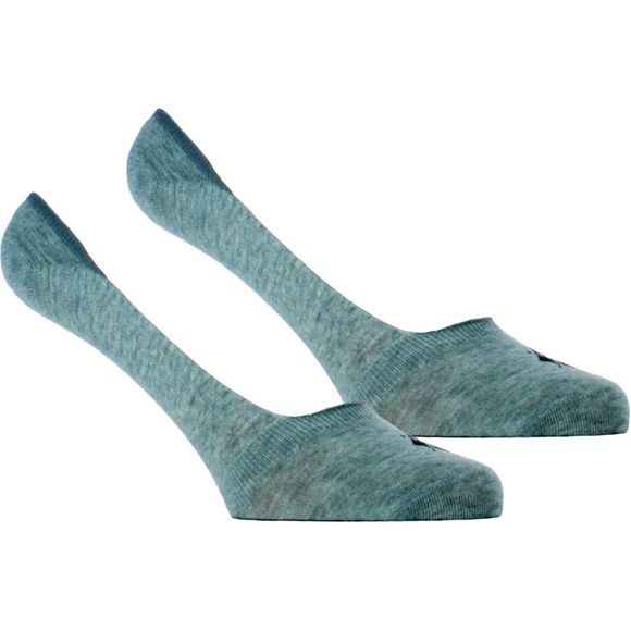 Everyday   2-pack invisible socks - Stretch cotton
