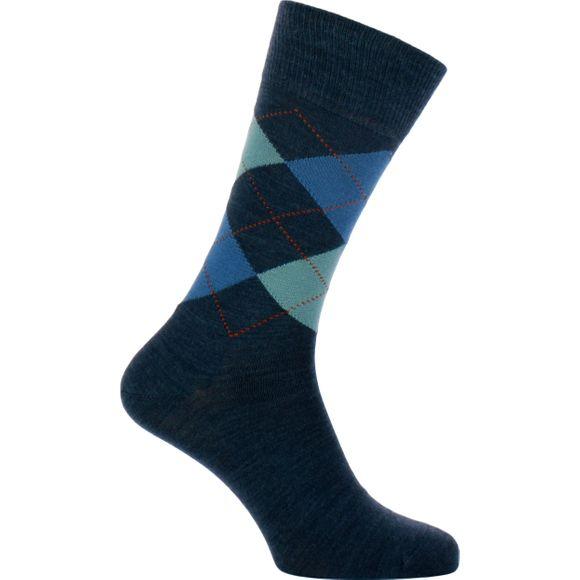 Edimburgh | 1 par de calcetines clásicos - Lana y poliamida