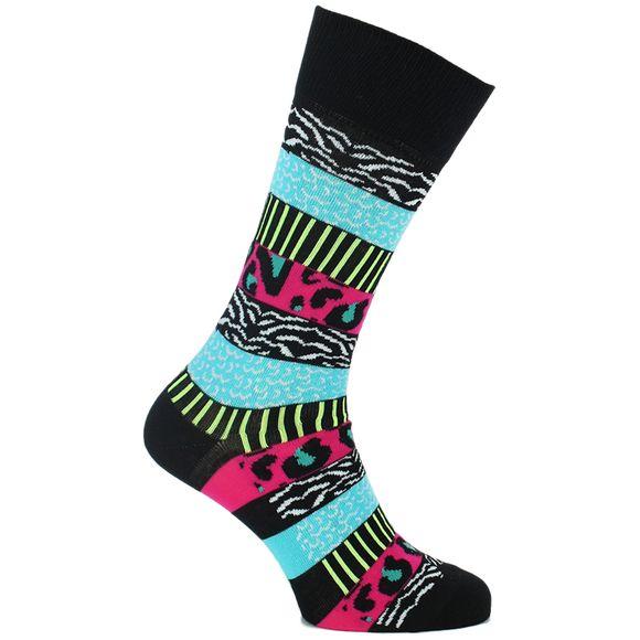 Wild Stripes | 1 par de calcetines clásicos - Algodón y poliamida stretch