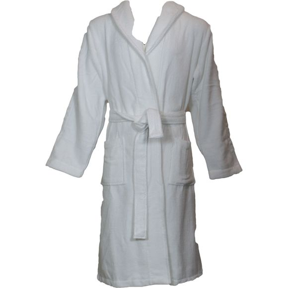 Terry logo | Bathrobe - 100% cotton