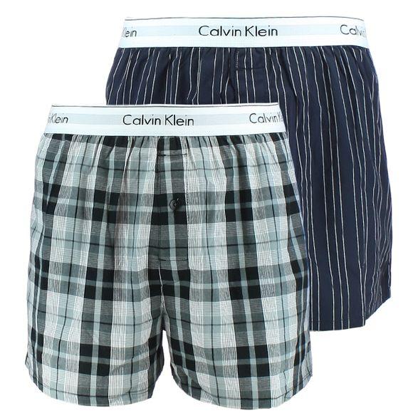 Modern cotton stretch | 2-pack boxer shorts - 100% cotton