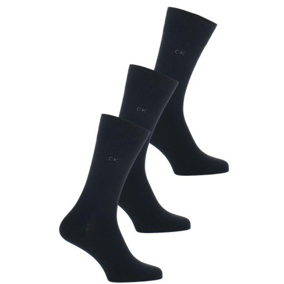 Eric | 3-pack socks - Cotton and stretch polyamide