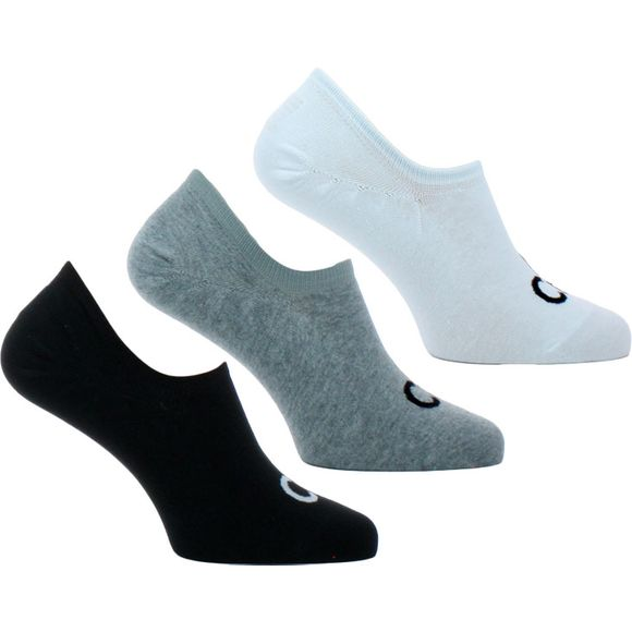 ECA343 | 3-pack ankle socks - Cotton, stretch polyester and polyamide