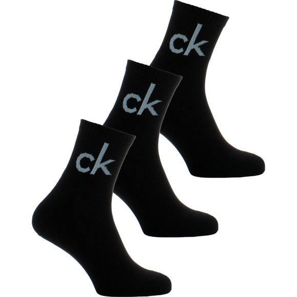 ECA344 | Lote de 3 pares de calcetines cortos - Algodón, poliéster y poliamida stretch