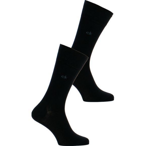 Casual | Lote de 2 pares de calcetines clásicos - Algodón y poliamida stretch