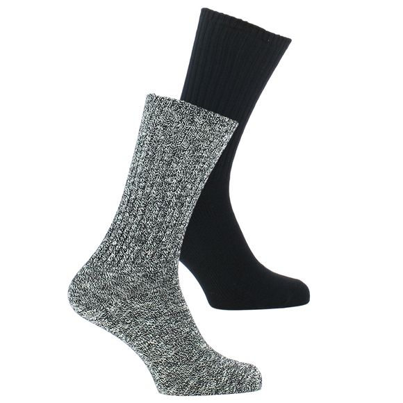 Adam | Lote de 2 pares de calcetines clásicos - Algodón y poliamida stretch