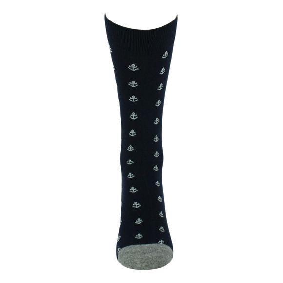 MIANCORA | Lote de 2 pares de calcetines largos - Algodón, poliéster y poliamida stretch