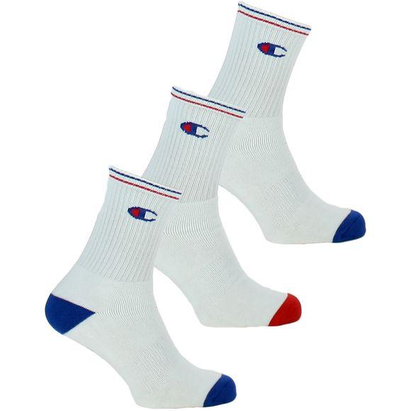 Performance | Lote de 3 pares de calcetines clásicos - Algodón, poliéster y poliamida stretch