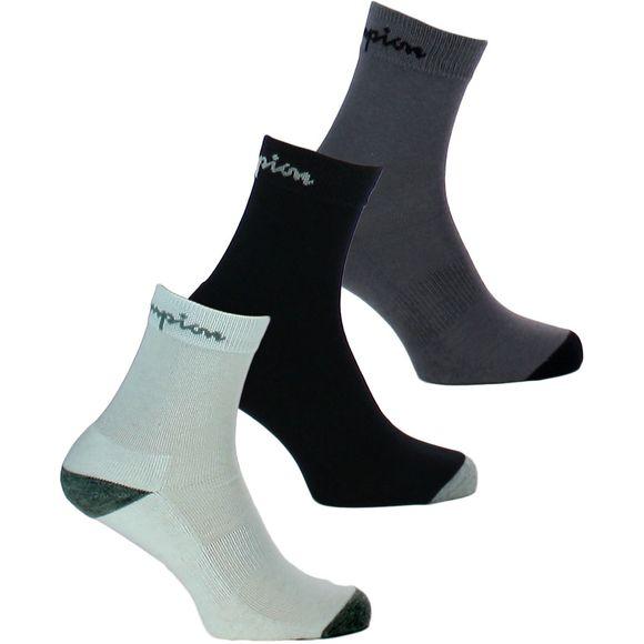 Performance | Lote de 3 pares de calcetines cortos - Algodón, poliéster y poliamida stretch