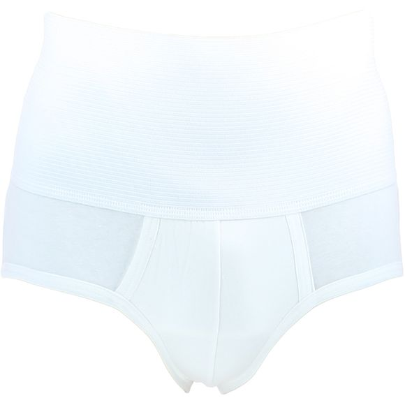 Open Brief | High-waisted briefs - Stretch cotton