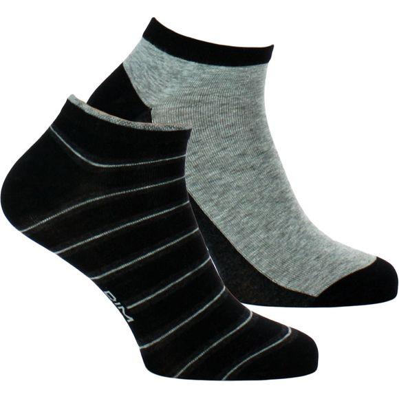 Coton Style | Lote de 2 pares de tobilleros - Algodón, poliéster y poliamida stretch