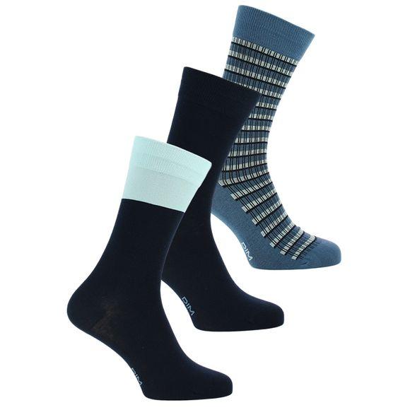 Coton style | Lote de 2 pares de calcetines clásicos - Algodón stretch
