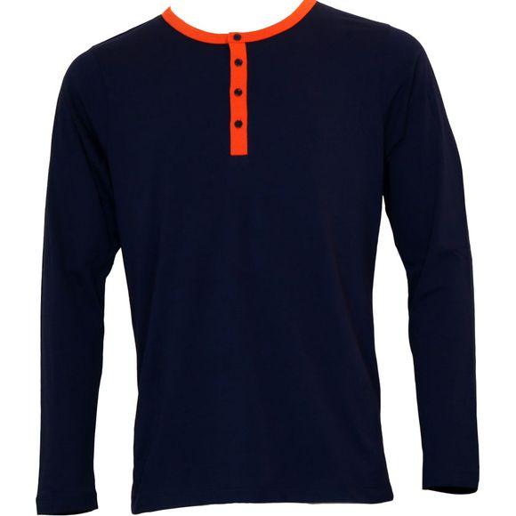 Night Gentlemen   Camiseta con mangas largas - 100% algodón