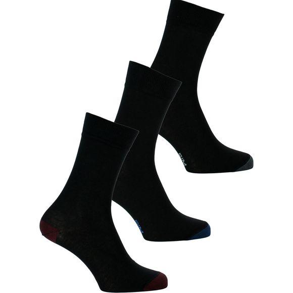 Coton Style   Lote de 3 pares de calcetines clásicos - Algodón y poliamida