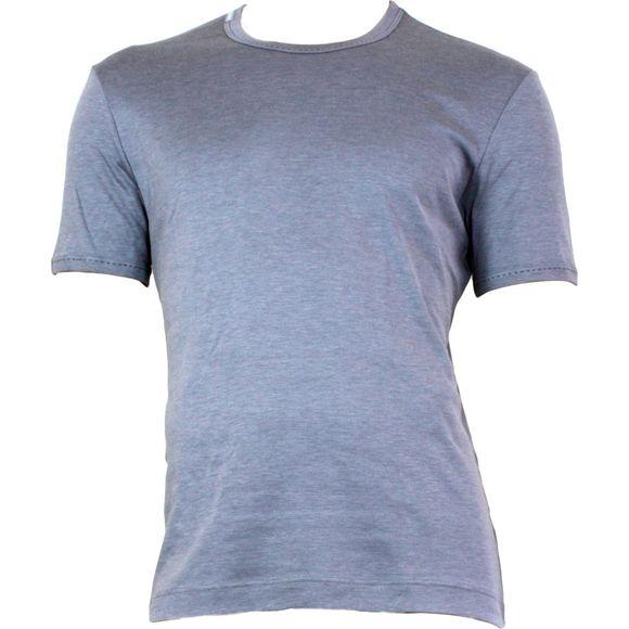 R-Neck | Camiseta - Seda y algodón