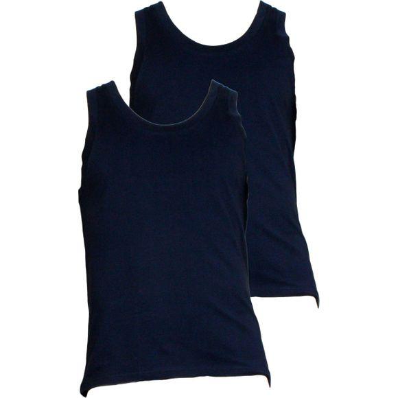 N9A11J-O0025   Lote de 2 camisetas sin mangas - Algodón stretch