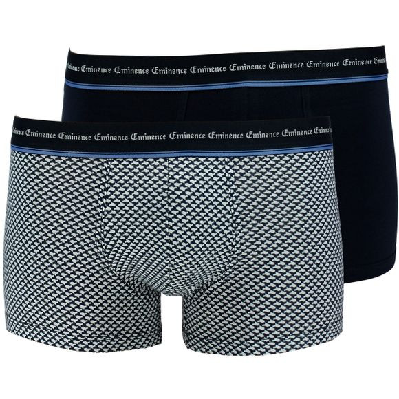Duo print | 2-pack boxer briefs - Stretch cotton