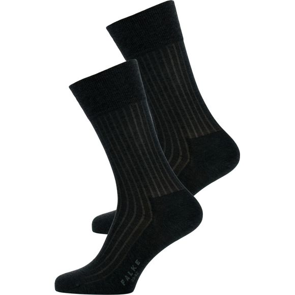 Duo | 2-pack socks - Cotton and polyamide