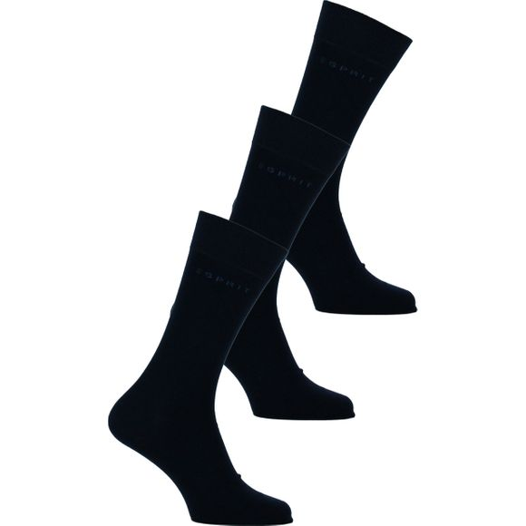 Esprit | 3-pack socks - Cotton and stretch polyamide
