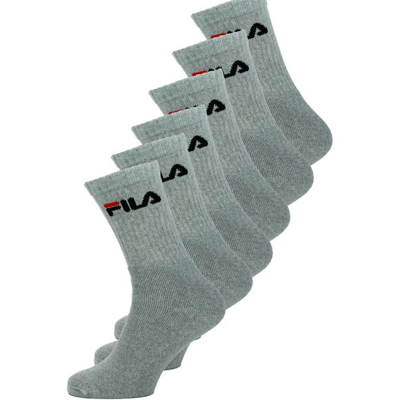 F9505 | 6-pack socks - Cotton and stretch polyester