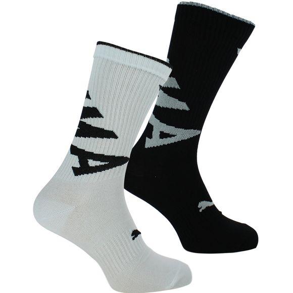 Crew | Lote de 2 pares de calcetines clásicos - Algodón y poliamida stretch