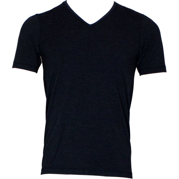 Personal fit | T-shirt - Viscose and stretch polyester